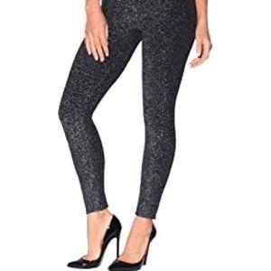 Forever 21 metallic sparkle leggings L
